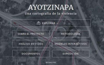 Interaktive 'Plattform Ayotzinapa' rekonstruiert die Ereignisse im Fall der 43 verschwundenen Studenten von Ayotzinapa/Mexiko