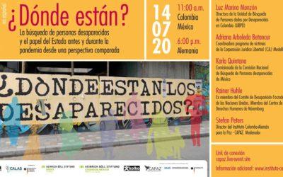 Wo sind sie? Die Suche nach Verschwundenen – ein virtueller Runder Tisch zum Verschwindenlassen in Lateinamerika